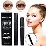 3D Fiber Lash Mascara,3d Fiber Lashes, 3d Fiber Mascara - Best for Thickening & Lengthening, Lasting All Day, Waterproof, Smudge Proof & Hypoallergenic Ingredients