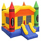 Inflatable HQ Commercial Grade Crayon Bounce House with Blower