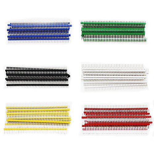 OCR-60Pcs-254mm-40Pin-Breakaway-PCB-Board-Male-Pin-Header-Connector-Singler-Row-for-Arduino-Shield-Blue-Black-Green-White-Red-Yellow-6Colors