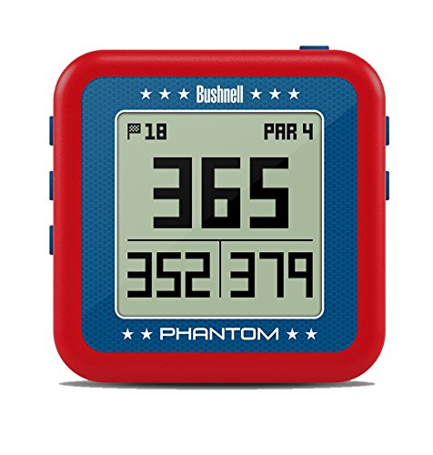 Bushnell Phantom Golf GPS, Red/Blue
