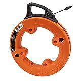 """Klein Tools 56005 1/4"""" Wide Steel Fish Tape, 25-Foot"""