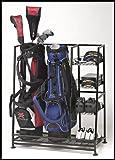 Golf Organizer (2-bag) (Black)