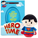 itty bittys Superman Hero Time Just Because Card With Stuffed Animal