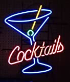 Neonetics 5COCKT Cocktails and Martini Glass Neon Business Sign