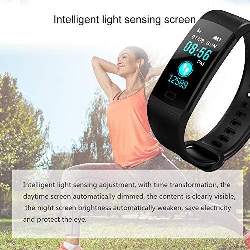 51JUeYNfOuL. AC  - Awopee Smartwatch Pulsera Inteligente,Pulsera Inteligente Smartband Bluetooth,con Podómetro, Contador de Calorías y Kilómetros, Notificaciones de Mensajería y Llamadas, Monitor de Ritmo Cardiaco, A Prueba de Agua y Polvo, Compatible con Android y iOS #Amazon