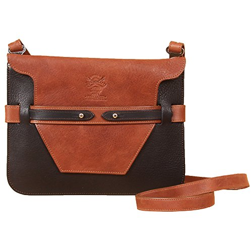 61l4v7fZZ8L Crossbody Shoulder Strap adjusts from 44 to 52 inches. Product packaging includes a protective cotton canvas dust bag and gift box. Black and Brown leather combo; Compact Design