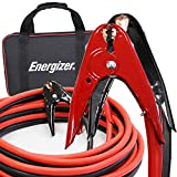 Energizer 2-Gauge 800A Heavy Duty Jumper Battery Cables 20 Ft Booster Jump Start ENB-220