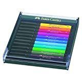 Faber-Castell 267421 India Ink Pitt Artist Pen B 12x Bright