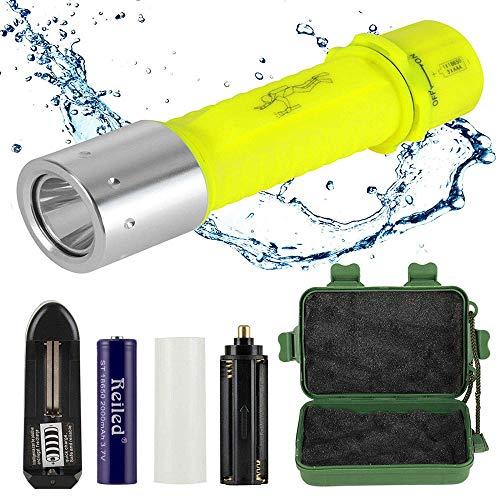 Reiled Diving Flashlight