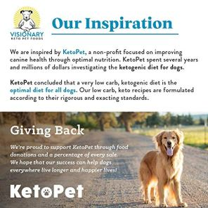 Visionary-Pet-Keto-Dog-Food-Low-Carb-Kibble-High-Protein-Natural-Chicken-Flavor-Grain-Free-Dry-Dog-Food-with-Natural-Formula-for-Lifelong-Health-Happiness