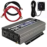 GoWISE Power PS1005 Pure SINE Wave Inverter 1500W Cont/3000W Peak