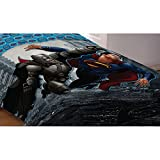 "Warner Bros. 72"" x 86"" Batman Vs Superman World's Finest Reversible Comforter, Twin/Full"