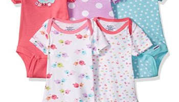 1a25993ff055 Gerber Baby Infant 3 Pack Organic Short Sleeve Onesies Brand ...