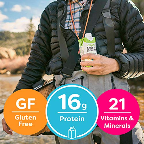 Orgain Organic Nutritional Shake, Sweet Vanilla Bean - Meal Replacement, 16g Protein, 21 Vitamins & Minerals, Gluten Free, Soy Free, Kosher, Non-GMO, 11 Ounce, 12 Count (Packaging May Vary) 7