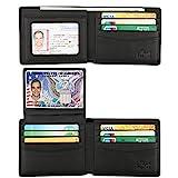 Wallet for Men-Genuine Leather RFID Blocking Bifold Stylish...