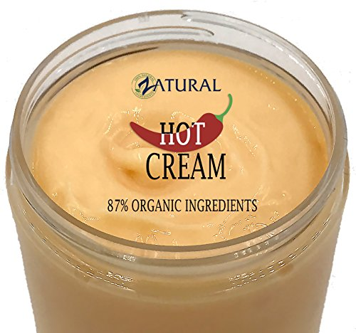 Organic Hot Cream-Cellulite Cream-Muscle Rub-Slimming Cream-Pain Relief-Body Wraps-Belly Fat-Skin Firming & Weight Loss-Professional Therapeutic Grade-Doctor Formulated (32 Ounce) 3