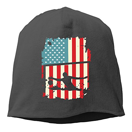 GEW FACD Water Polo Vintage American Flag Sports Unisex
