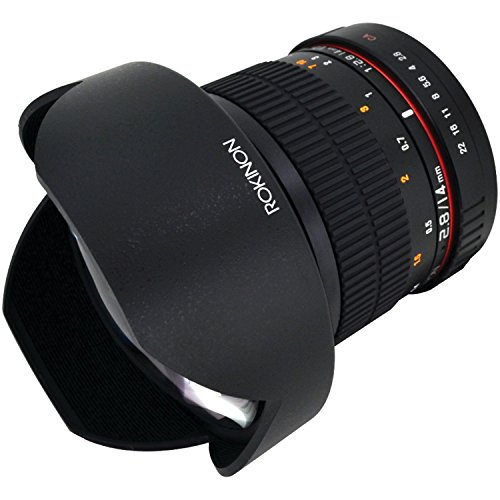Rokinon FE14M-C 14mm F2.8 Ultra Wide Lens for Canon (Black) – Fixed