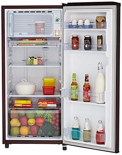 51Jm9M2sskL Whirlpool 190 L 3 Star Direct-Cool Single Door Refrigerator (WDE 205 CLS PLUS 3S WINE TWINKLE, Wine Twinkle)