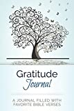 Gratitude Journal: A Journal Filled With Favorite Bible Verses (KJV)