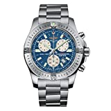 Breitling Colt Chronograph Blue Dial Stainless Steel Men's Watch A7338811/C905/173A