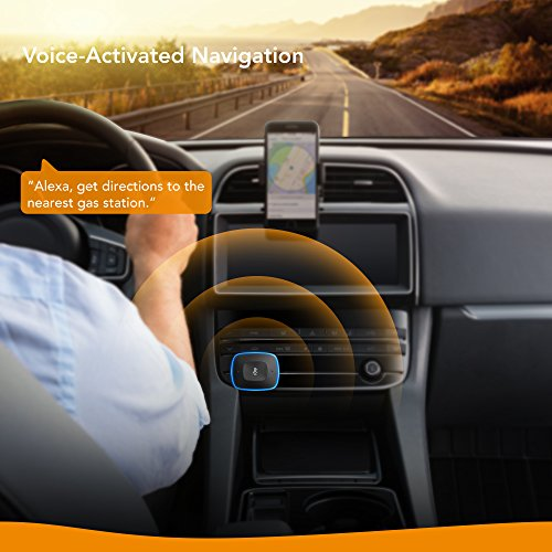 Roav-Viva-by-Anker-Alexa-Enabled-2-Port-USB-Car-Charger-in-Car-Navigation-Compatible-with-Android-and-iOS-Smart-Devices