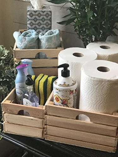 milk crates for laundry storage