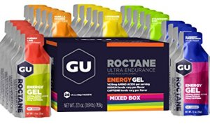 GU Roctane Ultra Endurance Energy Gel, Assorted Flavors, 24-Count