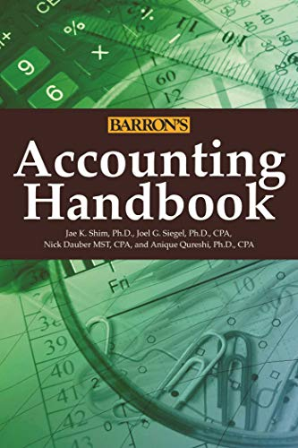 Accounting Handbook (Barron's Accounting...