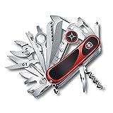 Victorinox Swiss Army Multi-Tool, EvoGrip S54 Pocket Knife, Red