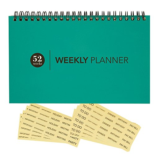 Blank Calendar Desk Pad : Blank weekly calendar planner for home office