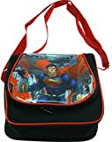 "Superman Lunch Bag (8.5""x8""x4"") - Superman School Bags for Lunch"