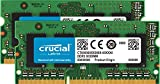 Crucial 16GB Kit (8GBx2) DDR3/DDR3L 1600 MT/S (PC3-12800) Unbuffered SODIMM 204-Pin Memory - CT2KIT102464BF160B