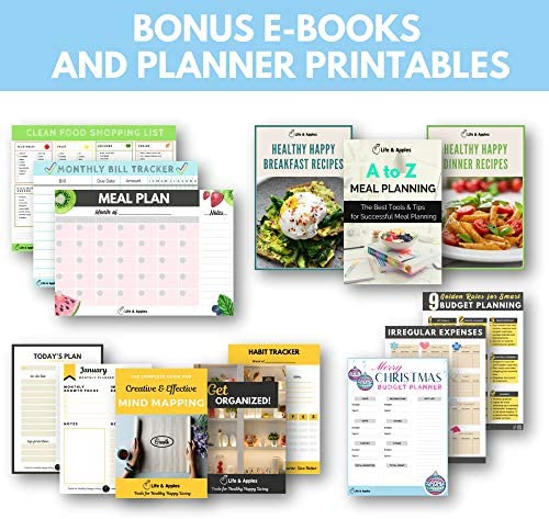 Food Journal & Fitness Diary with Daily Gratitude and Meal Planner for Healthy Living and Weight Loss Diet 7