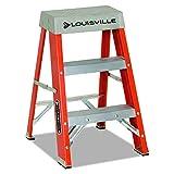 Louisville Ladder FS1510 Fiberglass Step Ladder, 10-Feet