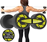 POWER REELS Amazon 1 Most Effective Constant Resistance Fitness Product. Build Stronger and leaner Muscles, Train Anywhere & See Faster Results (Yellow) 3lbs Resistance