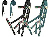 Product review for Derby Originals Aztec Nylon Padded Halter Bridle Combo with Reins