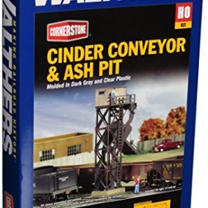 Walthers Cornerstone Series Kit HO Scale Cinder Conveyor & Ash Pit 51KFw8G0PVL