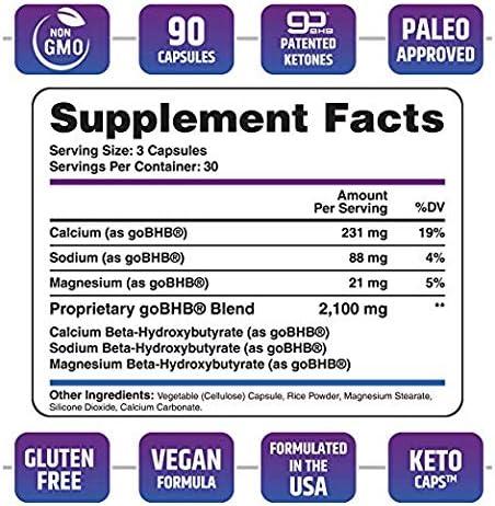 Keto Pills - 3X Dose (2100mg | 90 Capsules) Advanced Keto Burn Diet Pills - Best Exogenous Ketones BHB Supplement - Max Strength Formula 4