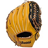 Franklin Sports Field Master Series Softball & Baseball Gloves, 12', Right Hand Throw