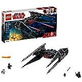 LEGO Star Wars Episode VIII Kylo Ren's Tie Fighter 75179 Building Kit, TIE Silencer Model and Popular Gift for Kids (630 Pieces)