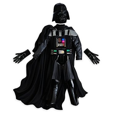 Disney Deluxe Light Up Darth Vader Costume for Boys Star War