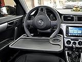 Cutequeen JIANXIN Trading car Eating/Laptop Steering Wheel Desk, Black