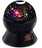 Night Lights for Kids, Multicolor Star Projector with Timer, Baby Night Light for Boys and Girls