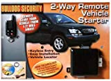Bulldog Security 2 Way Remote Vehicle Starter Kit 1/2 Mile Range with LCD Remote