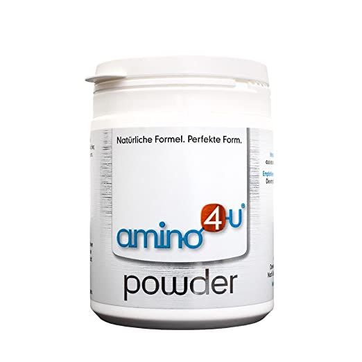 Amino4u consists of a combination of 8 essential amino acids in highly purified, free and crystalline form - specially composed for an optimal human protein, so for optimal cell structure . It is quickly absorbed by the body, pH neutral, leaves no residue and hardly produces nitrogen degradation products, thus conserves the stomach, intestines, liver and kidneys.