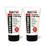 Tecnu Extreme Poison Ivy & Oak Scrub-Removes Toxin from Skin That Causes Poison Ivy and Poison Oak Rash, 4-Ounce Tube, (Pack of 2)