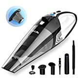 VacLife Handheld Vacuum, Hand Vacuum Cordless with High Power, Mini Car Vacuum Cleaner Powered by Li-ion Battery Rechargeable Quick Charge Tech, for Home and Car Cleaning, Wet & Dry