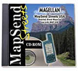 Magellan MapSend Streets CD For Map 330