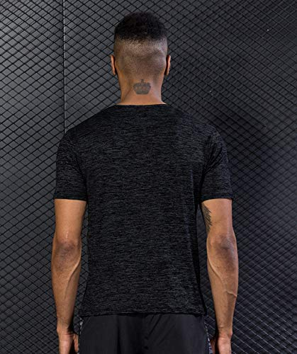 5 Pack Men's Active Quick Dry Crew Neck T Shirts | Athletic Running Gym Workout Short Sleeve Tee Tops Bulk 17 Fashion Online Shop gifts for her gifts for him womens full figure